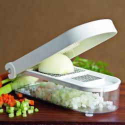 Cortar cebola em quantidade e sem cheiro nas mãos